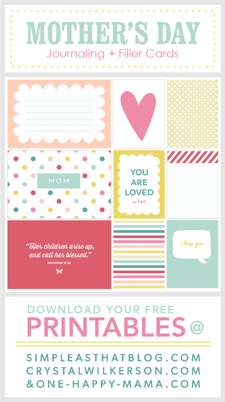 Freebie on the Fifth – Mother's Day Edition