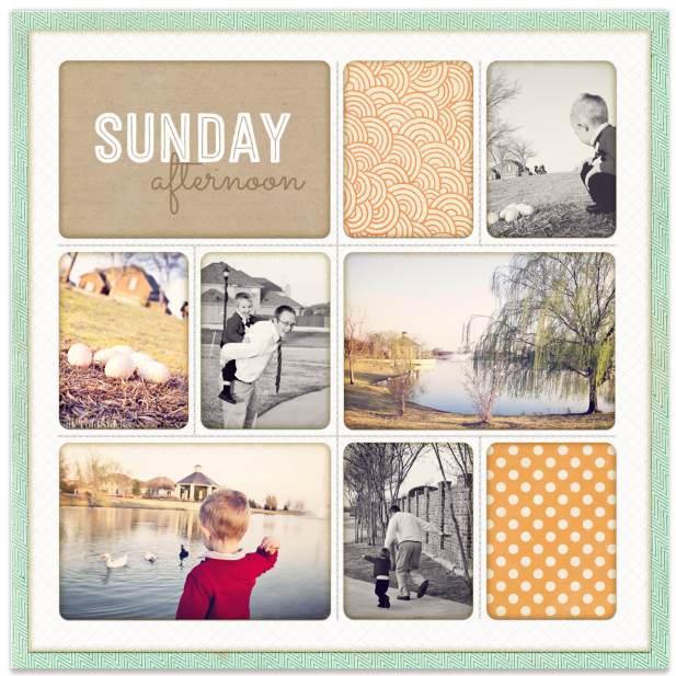 A Layout a Day in the Month of May – Day 04
