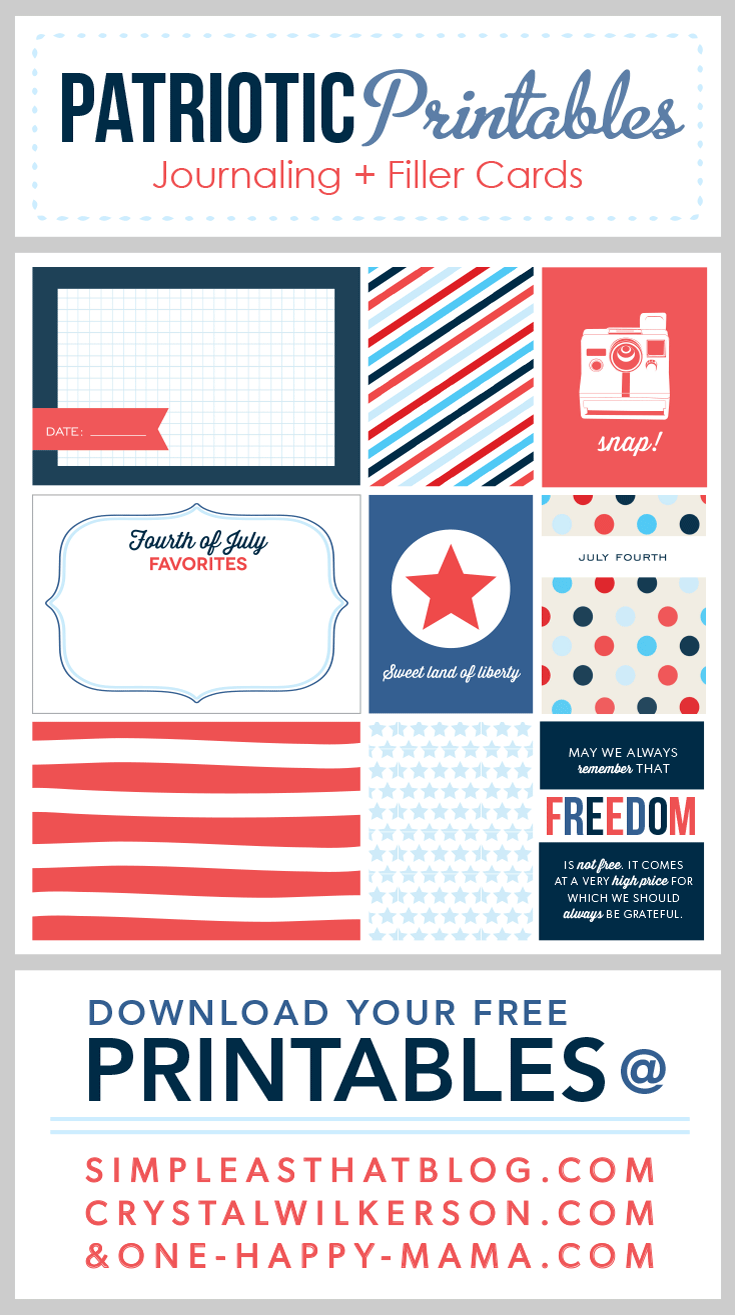 Freebie on the Fifth – Patriotic Version