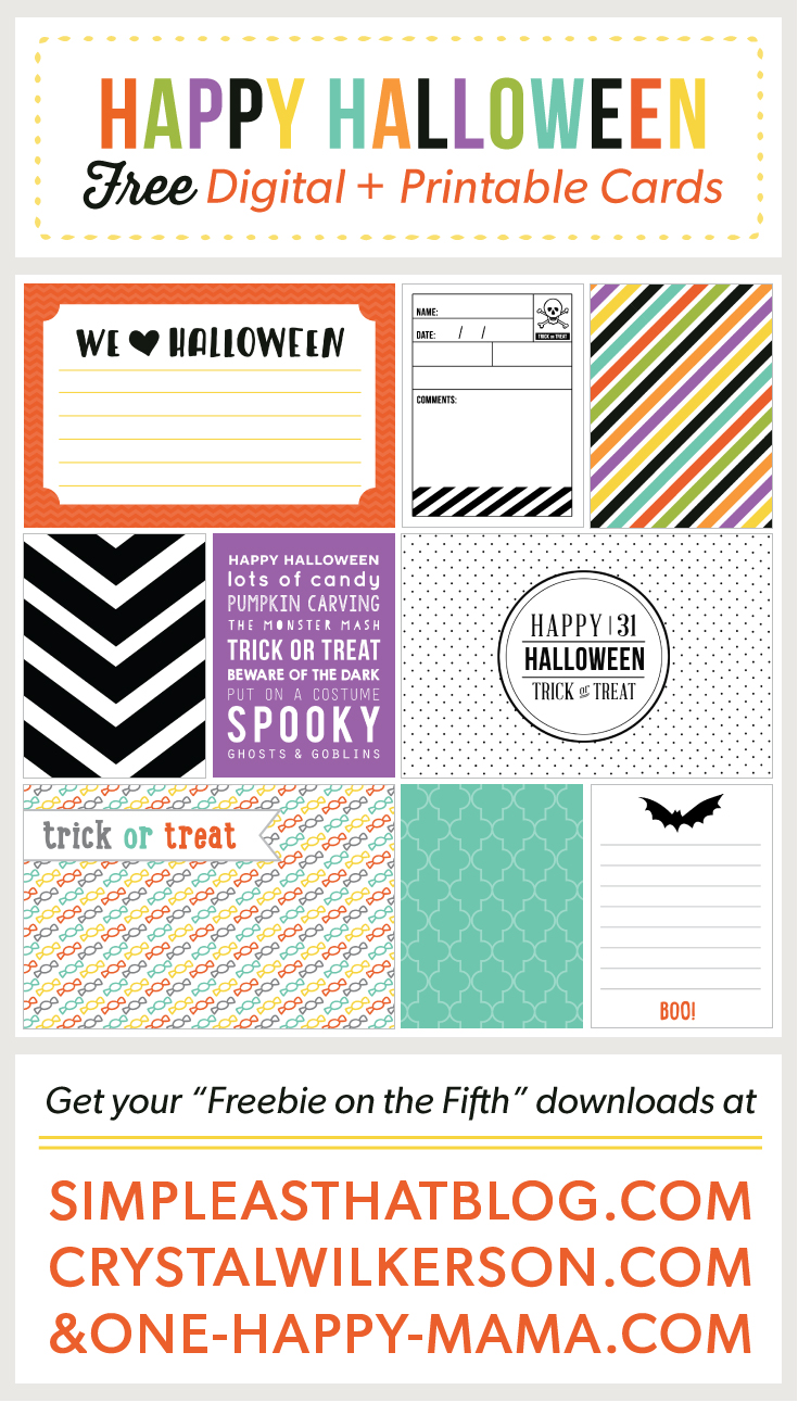 Freebie on the Fifth…October Edition