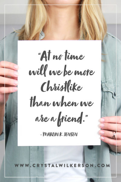 The Power of Friendship & Truly Connecting with Others…